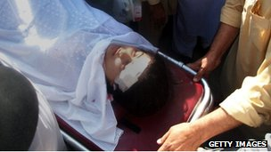 Malala Yousafzai after the attack