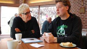 Geoff Skelton and Matthew Cooley