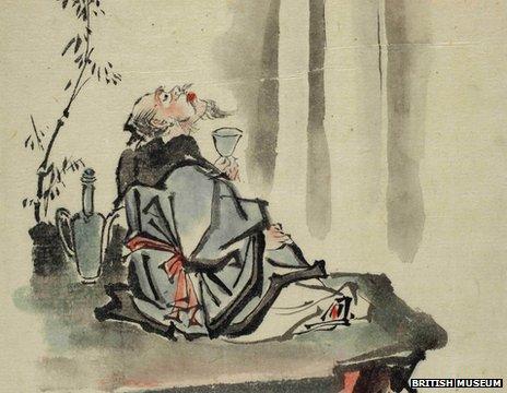 _63413392_00785424_001_li_bai_raising_glass - China's drunken superstar poets - Lifestyle, Culture and Arts