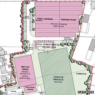 Plans for equestrian centre and museum at Oatlands in Guernsey