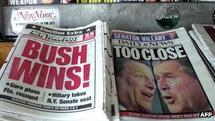 November 2000 newspapers