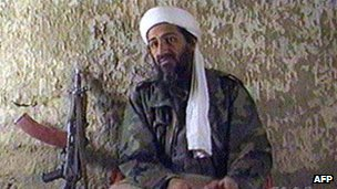 Bin Laden, shown in 1997