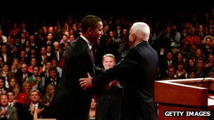 McCain and Obama