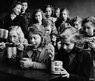 School feeding in Dortmund, Germany, late 1940s/early 1950s. Friends Relief Service.