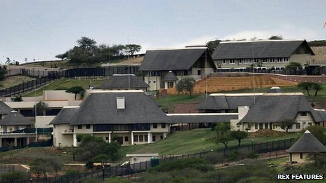 The home of South Africa President Jacob Zuma in Nkandla - 28 September 2012