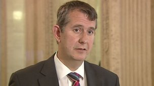 Health Minister Edwin Poots has given figures for abortions in Northern Ireland