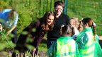 Duchess of Cambridge and children