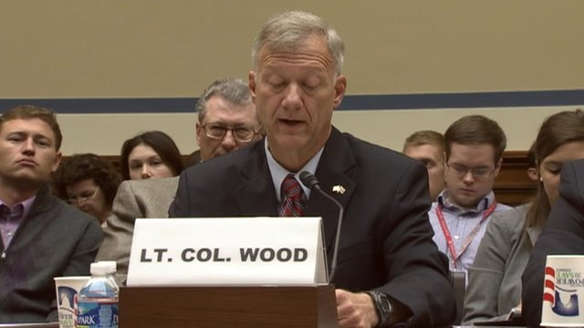 Lt Col Andrew Wood at House Oversight Committee