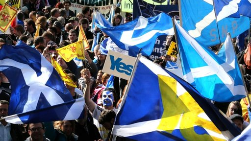 Pro-independence march