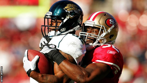 San Francisco 49ers and Jacksonville Jaguars