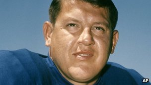 Alex Karras, in 1968, as a player for the Detroit Lions