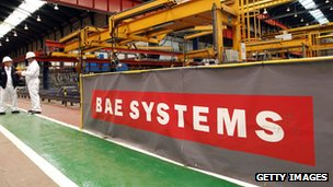 BAE Systems factory