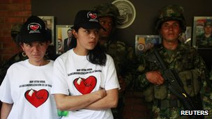 Farc members who demobilised - 10 October 2012