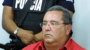 Ex-president Arnoldo Aleman