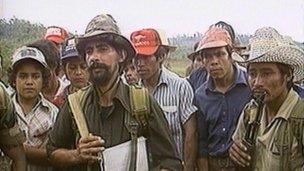 Contras in Nicaragua