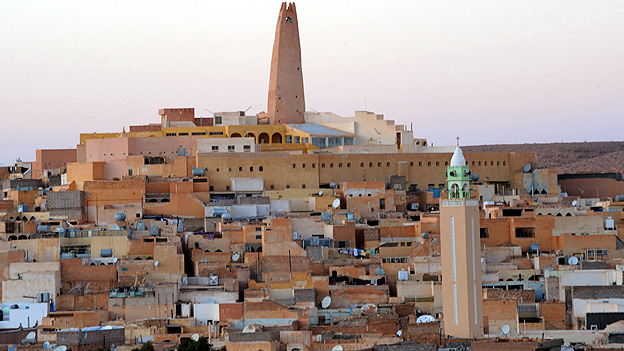 The town of Ghardaia