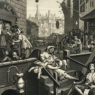 William Hogarth's 'Gin Lane' 1751