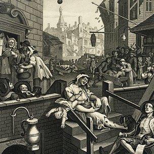 William Hogarth's 'Gin Lane' 1751