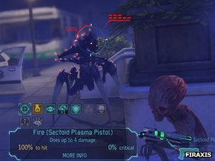 Screenshot from Xcom; Enemy Unknown