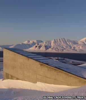 Seed vault, Svalbard (Image: Global Crop Diversity Trust)