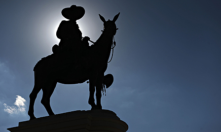 Statue of Augusto Cesar Sandino