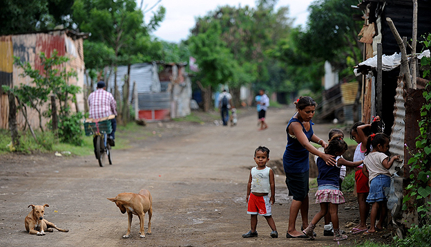 Neighbourhood in Nicaragua