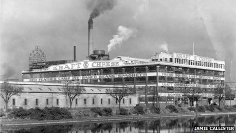 Kraft factory