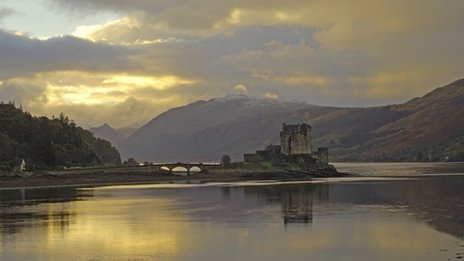 castle at Eilean Donan, Loch Duich