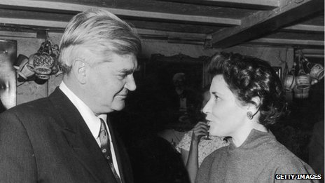 Doris Lessing with Aneurin Bevan