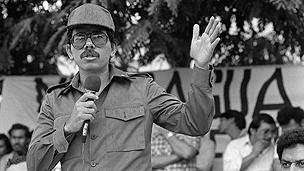 Daniel Ortega in 1985