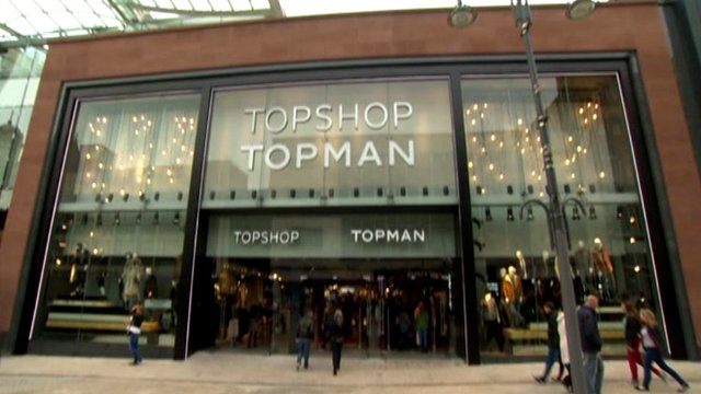 The new Topshop in Leeds