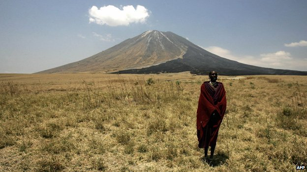 The 'Mountain of God' or Ol Doinyo Lengai -  is part of the Great Rift Valley in Eastern Africa