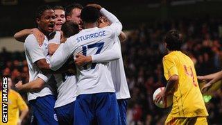 England 2-1 Romania