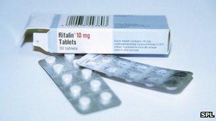 Ritalin tablets