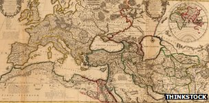 Map Pax Romana