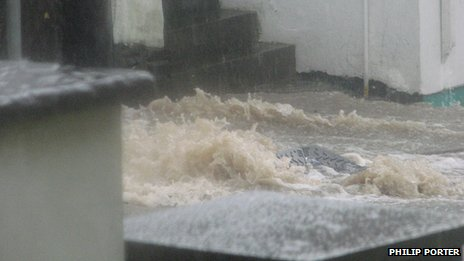 Flooding in Cardigan