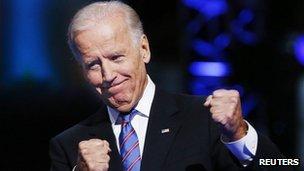 Vice-President Joe Biden