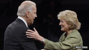 Joe Biden and Paul Ryan's mother