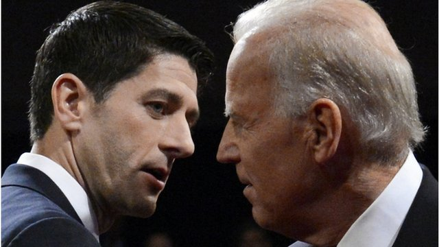 Paul Ryan and Joe Biden