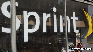 Sprint shop in Chicago