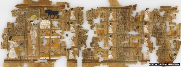 Fragment from the Ramose Book of the Dead, Egypt, 1350 BC