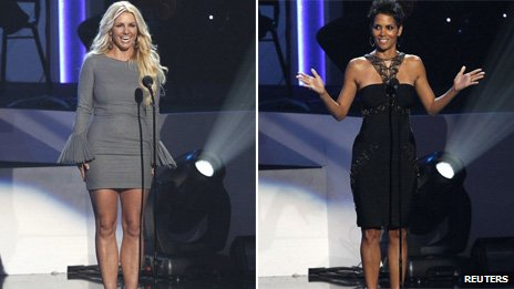 Britney Spears and Halle Berry
