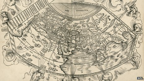 A 15th century reconstruction of Ptolemy&#039;s map