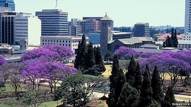 Harare, capital of Zimbabwe