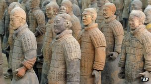 Terracotta Army figures