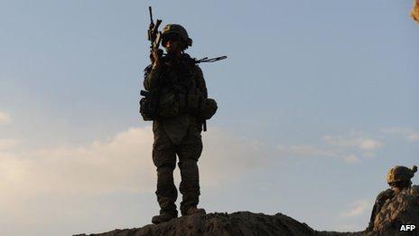 File photo: US troops