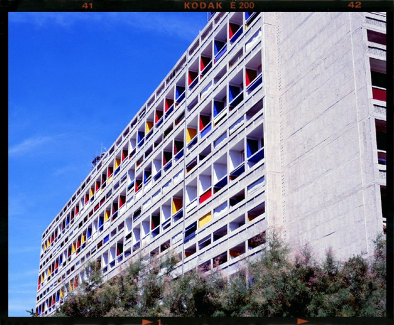 The Unite d'Habitation also known as Cite radieuse (Radiant City) in Marseilles