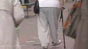 Elderly people in Swindon