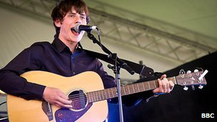 Jake Bugg at Reading 2012