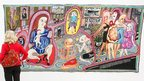 Grayson Perry, The Adoration of the Cage Fighters (2012), Victoria Miro, London